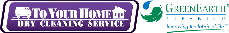 To Your Home Dry Cleaning Service Logo
