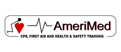 AmeriMed CPR Training Logo