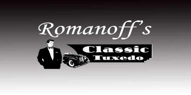 Romanoff's Classic Tuxedos Logo