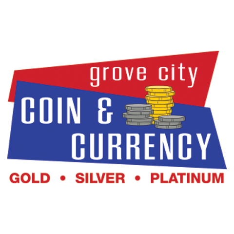 Grove City Coin & Currency Logo