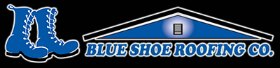 Blue Shoe Roofing Co Logo