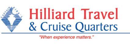Hilliard Travel & Cruise Quarters Logo