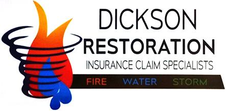 Dickson Restoration Logo