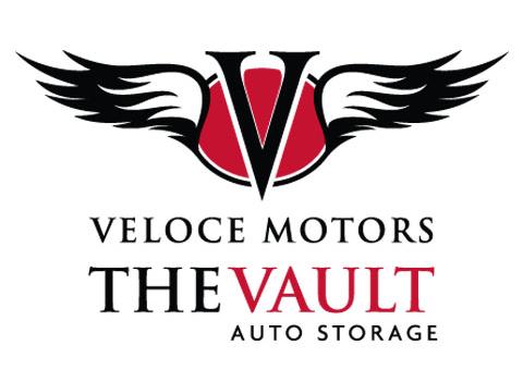 Veloce Motors The Vault Logo