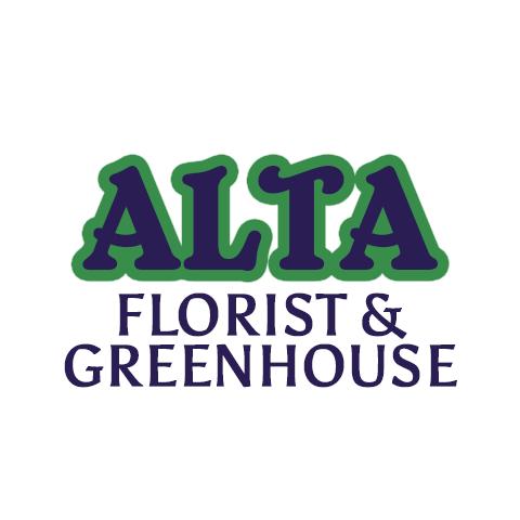 Alta Florist & Greenhouse Logo