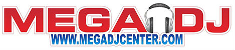 Mega DJ Center Logo