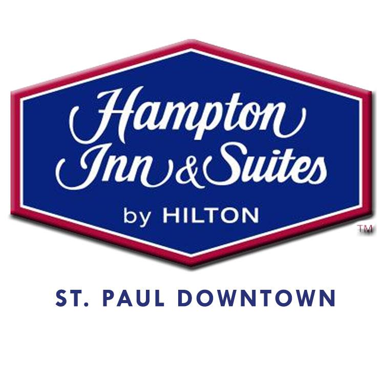 Hampton Inn & Suites St. Paul Downtown Logo