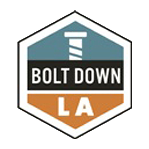 Bolt Down LA Logo