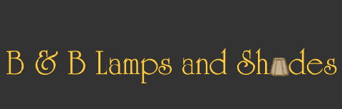 B & B Lamps and Shades Logo