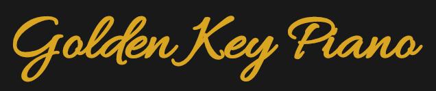 Golden Key Piano Logo