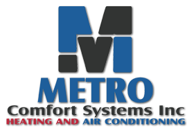 Metro Comfort Systems Heating and Air Conditioning Logo