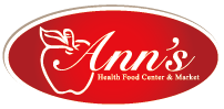 Ann's Health Food Center & Market - Red Bird Logo