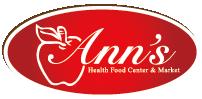 Ann's Health Food Center & Market - Red Bird Logo
