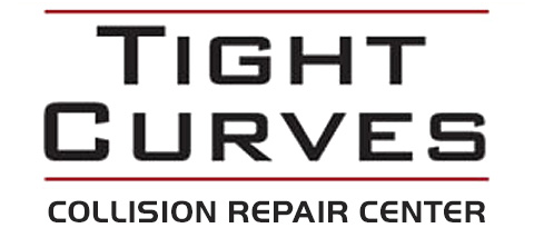 Tight Curves Collision Repair Center Logo