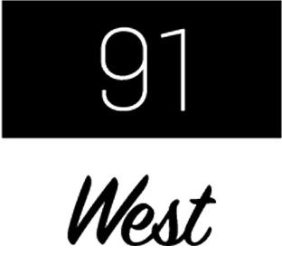 91 West Skatepark Logo