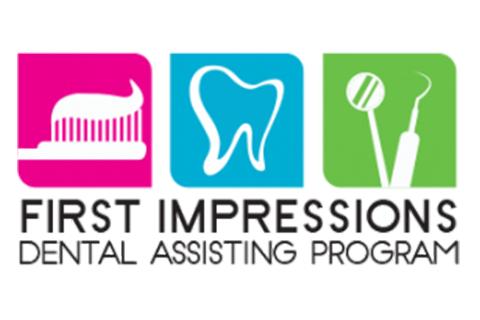 First Impressions Dental Assisting Program Logo