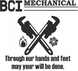 BCI Mechanical Contracting Logo