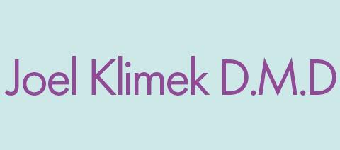 Joel Klimek D.M.D Logo