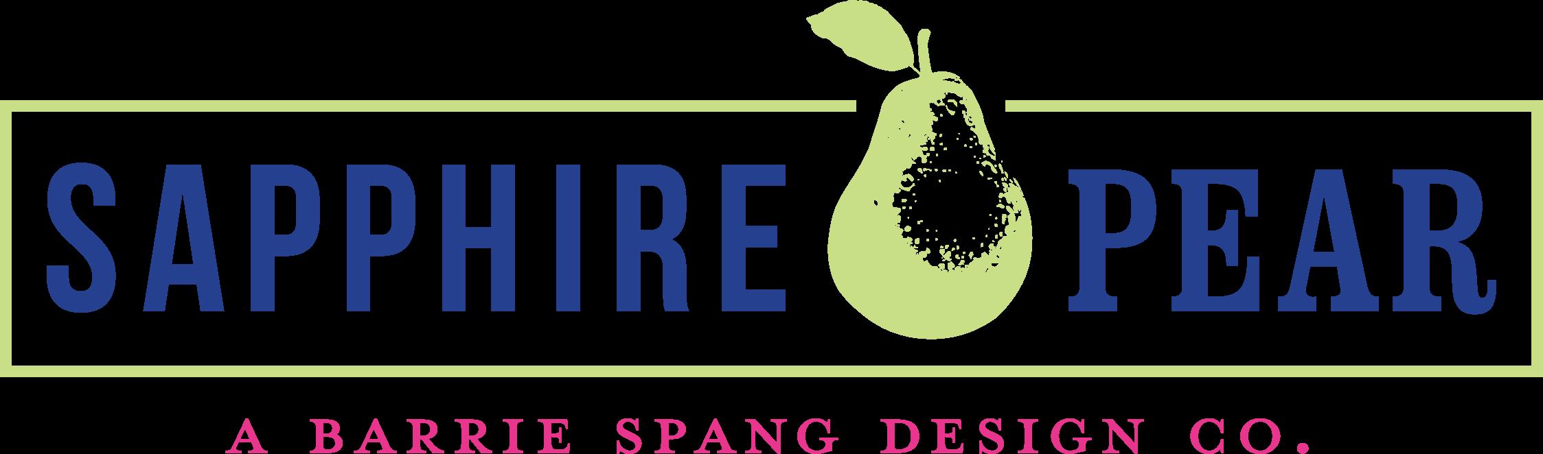 Sapphire Pear Logo