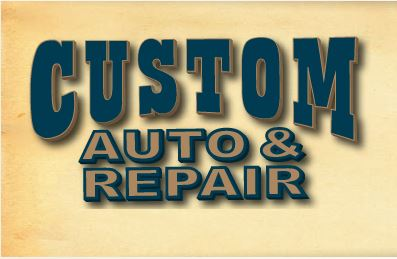 Custom Auto & Repair Logo