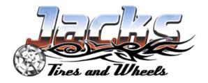 Jacks Tires and Wheels Logo