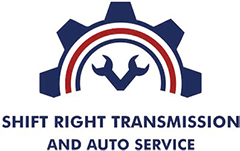 Shift Right Transmission and Auto Service Logo