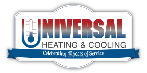 Universal Heating & Cooling Logo