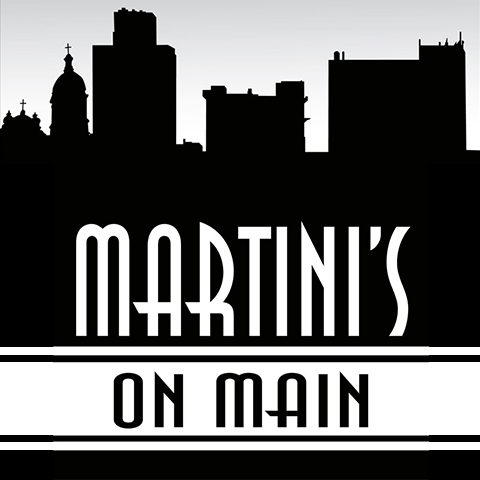 Martini's On Main Logo