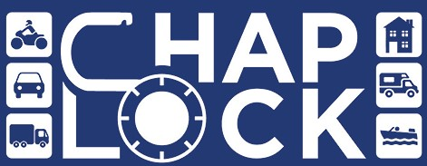 Chap Lock (formerly High-Tech Locksmiths) Logo
