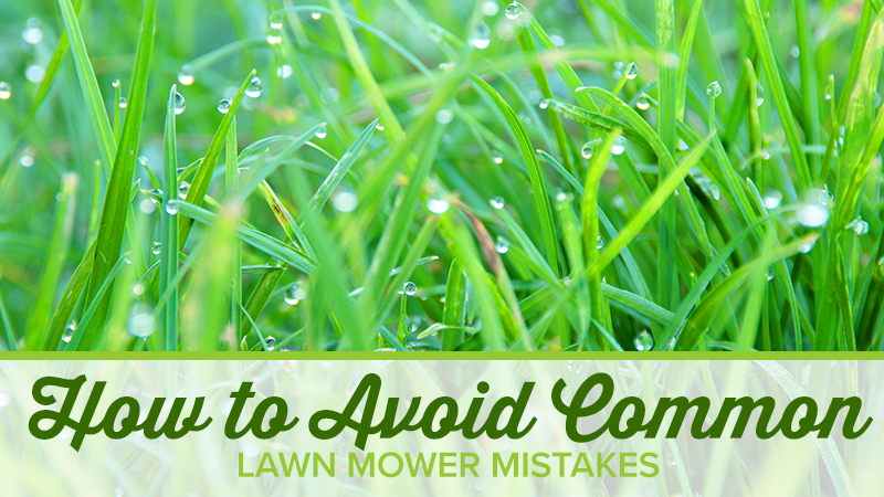 How to Avoid Common Lawn Mower Mistakes