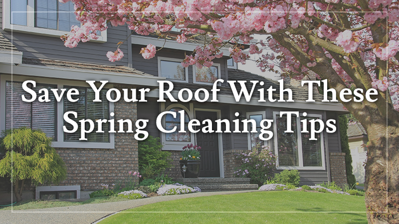 Save Your Roof With These Spring Cleaning Tips