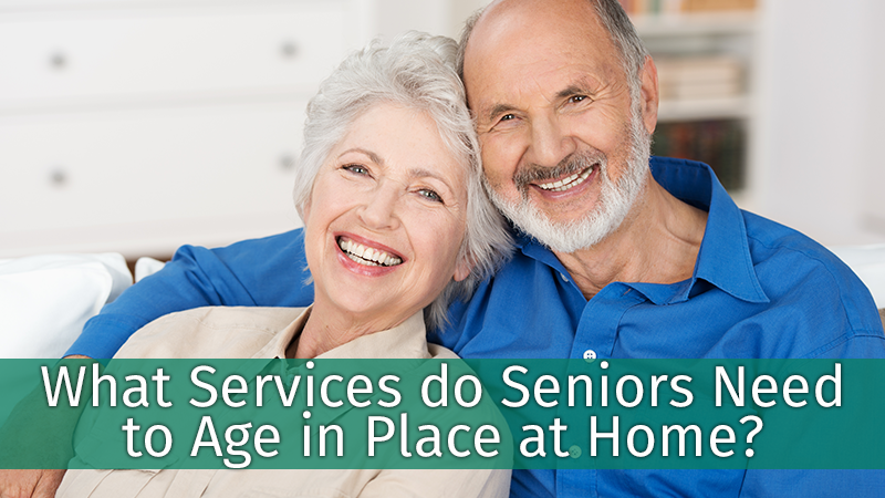 What Services do Seniors Need to Age in Place at Home?
