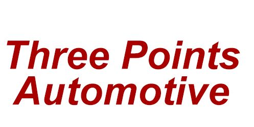 Three Points Automotive Logo