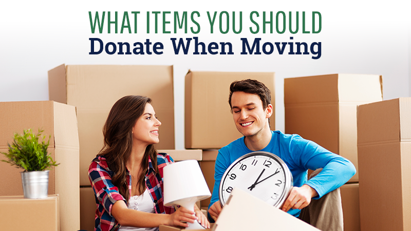 What Items You Should Donate When Moving