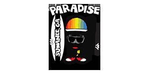 Paradise Hawaiian Shaved Ice, Snoballs & Boba Logo