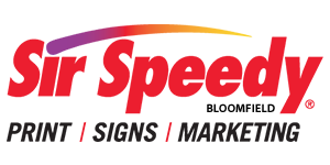 Sir Speedy Bloomfield Logo