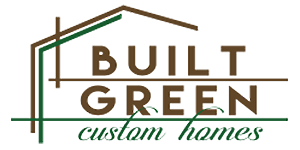 Built Green Custom Homes Logo