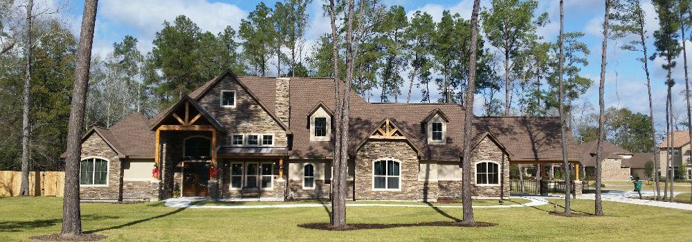 Custom home builder magnolia tx home building company for Custom home builders near me
