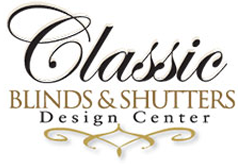Classic Blinds & Shutters Design Center Logo