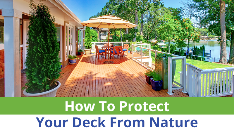 How To Protect Your Deck From Nature