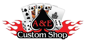 A & E Custom Shop Logo