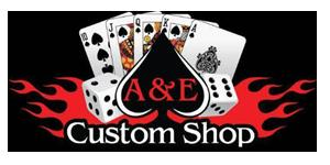 A & E Custom Shop Logo