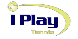 I Play Tennis Logo