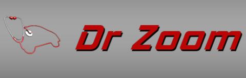 Dr. Zoom Auto Repair Specialist Logo