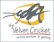 The Velvet Cricket Logo