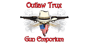 Outlaw Trux and Gun Emporium Logo