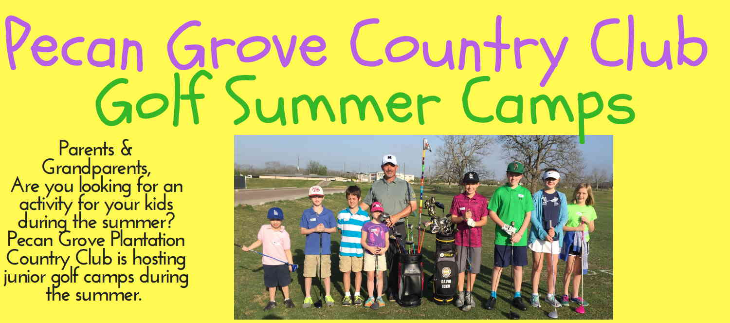 Pecan Grove Plantation Country Club Golf Summer Camps