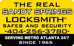 Sandy Springs Locksmith® Logo