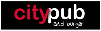 Citypub and Burger Logo