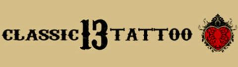 Classic 13 Tattoo Logo